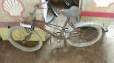 ancien VÉLO ENFANT 1940 double berceau,moto,cyclo,no émaillé