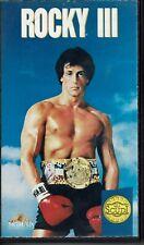Rocky III 3 - Film - VHS