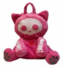 Toynami Skelanimals Kit the Cat Backpack Pink Plush - NEW with Tags
