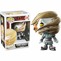 It (2017) - Pennywise with Wig US Exclusive Pop! Vinyl Figure NEW IN BOX Funko