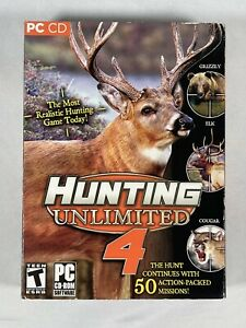Hunting Unlimited 4 CD Rom