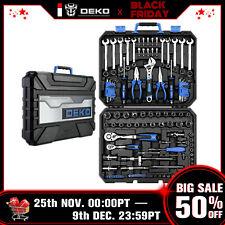DEKO Professional 118 Pcs Tool Kit Auto Repair Tool Kit Set Combination Package