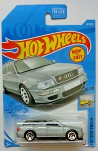 2021 Hot Wheels FACTORY FRESH 10/10 '94 Audi Avant RS2 157/250