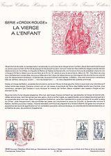 Document Philatélique Timbre 1er Jour : 26-27/11/ 1983 - Croix Rouge