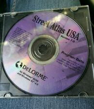 DeLorme Street Atlas Usa 7.0 Pc Cd Map Routing Directions, Mapping Tool Gps 1999
