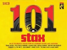 101 STAX RECORDS 5 CD VARIOUS ARTISTS - PRESALE 24-NOV-2017