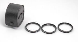 Tiffen 40.5mm Close Up Filter Set +1,+2,+3 With Case