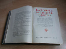 LAROUSSE MEDICAL ILLUSTRE Dr Galtier Boissière 1924 Antique Medical dictionary