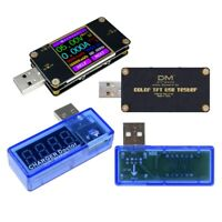 UT21 Color TFT LCD Current Voltage Power Capacity Meter USB Tester Replace UM24