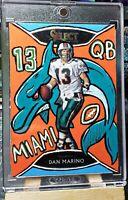 """2020 Panini Select Dan Marino CUSTOM """"Head Dolphin"""" SP #1/1 Miami Dolphins!"""