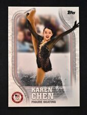2018 Topps US Winter Olympics Base #US-16 Karen Chen