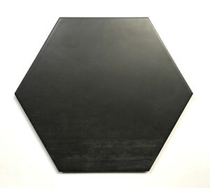10.2 x11.4 Mama Mia Hexagon Graphite Porcelain Floor Tile (1 PIECE)