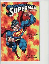 1994   SUPERMAN & DOOMSDAY   in    HUNTER/PREY comic book Set