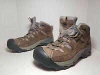 KEEN WATERPROOF Trail Hiking Shoes Brown MEN'S Outdoors Walking Size US10 A58