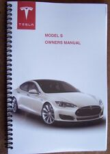 tesla owners manual new reprint tesla s