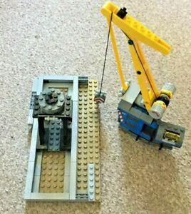 Lego Heavy Haul Train City crane from set 60098 spares