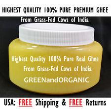 ORIGINAL AYURVEDA Pure INDIAN COW GHEE Grass-Fed Pasture-Raised Hormone-Free 8oz