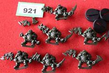 Games Workshop Space Crusade Orks Warriors Boyz WH40K Plastic 8 Models Unpainted