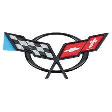 OEM NEW Rear Deck Lid Cross Flags Emblem Badge 97-04 Chevrolet Corvette 19207385