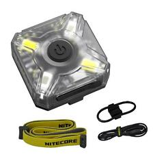 Nitecore NU05 KIT White & Red Rechargeable Headlamp w/ Bike Mount, USB Cable