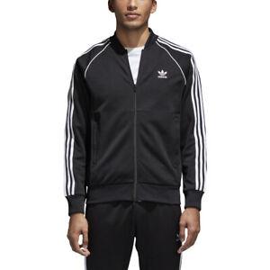Adidas Originals Superstar Men's Track Jacket Black-White cw1256