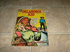 OKLAHOMA KID # 1 Comic Reading Copy G/VG GOLDEN AGE SCARCE 1950s Western