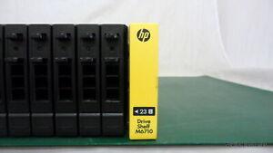 "HP 683232-001 M6710 2U Drive Magazine for 2.5"" SAS HDD's QR490-63012"