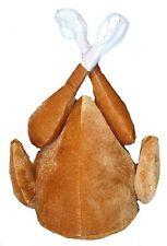 Marrón/de acción de gracias Navidad Turkey Fancy Dress Costume Sombrero Sombrero De Cena De Regalo