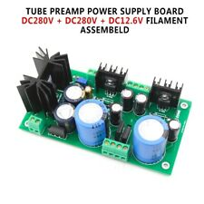 Filament Assembeld Tube Preamp Power Supply Board DC280V + DC280V +DC12.6V Hot