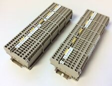 Lot of 65 Weidmuller ZDU 2.5/3AN Feed Through Terminal Blocks 800V 24A on DIN