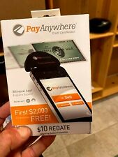Two PayAnywhere Credit Card Readers - practically new - never used