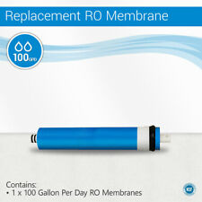 100 GPD RO Max Water Filter System Membrane Size 2012 NSF Certified