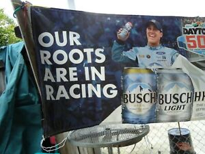 NASCAR BANNER DAYTONA 500 BUSCH BEER  2020