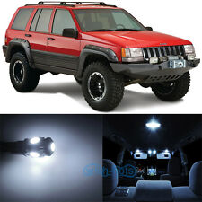 7pcs Xenon White SMD LED Interior Lights Kit For 93-98 Jeep Cherokee ZJ Grand WK