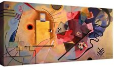 Kandinsky Quadro stampa su tela cm 100x50 Quadri Moderni XXL Arte