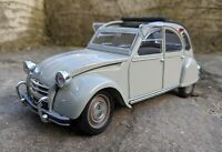 1/18 Citroen 2CV, Solido, grey.