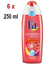 Fa Women Duschgel - Vitamin C + Pink Grapefruit - 6er Pack (6 x 250 ml)