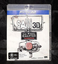 Saw 3D: The Final Chapter Unrated - Blu-ray - Region B