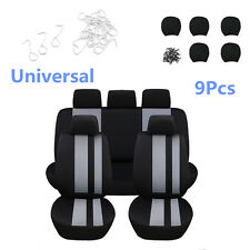 Universal 9Pcs Car Auto Full Styling Seat Cover Set for Car Interior Accessories