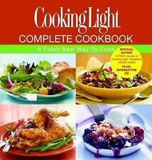 Cooking Light Complete Cookbook: A Fresh New Way to Cook (Book & CD-ROM), Very G