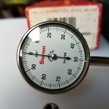Vtg Starrett 196b1 Universal Dial Indicator Back Plunger Excellent Cond Anthol