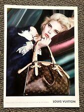 2007 Vogue Magazine Original Advert Ad Picture Scarlett Johansson Louis Vuitton