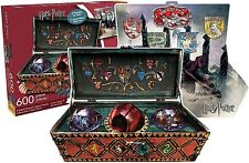 Harry Potter Quidditch shaped 600 pc 2 sided jigsaw puzzle  550mm x 400mm (nm)