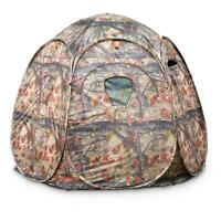 Portable Ground Hunting Blind Deer Turkey 6-Panel Steel Frame Backpack Carry Bag