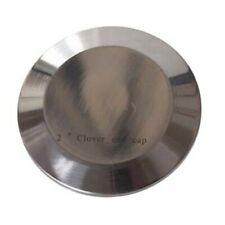 2 in Tri-Clamp End Cap - Stainless Steel Tri Clover Clamp Keg Cover