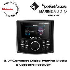 "Rockford Fosgate PMX-2 - 2.7"" Compact Digital Marine Media Bluetooth Receiver"