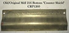 Old/Orig Detail-Adding Brass Nat'l Model 216 Counter Cover/Shield (Bottom of 3)
