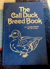 Call Duck Breed Book By C. Darrel Sheraw-1st Edition-1983-Uncommon