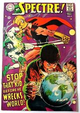 "1967 DC Comics Spectre #4 ""Stop That Kid Before He Wrecks The World"" 7.8 VF-"
