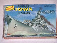 Maquette LINDBERG USS IOWA